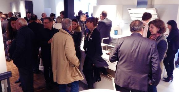 Ouverture du premier showroom romand de Poggenpohl Groupe (Suisse) SA