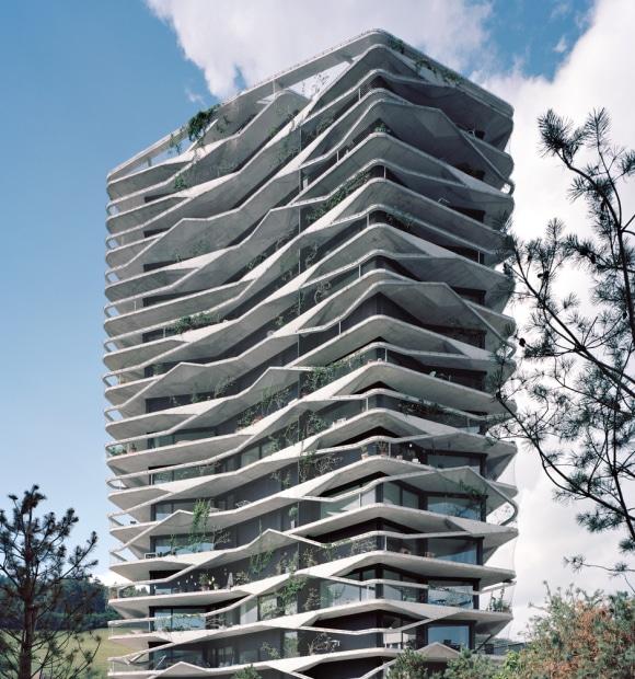 Garden Tower: «Wohnen mit Aussicht»