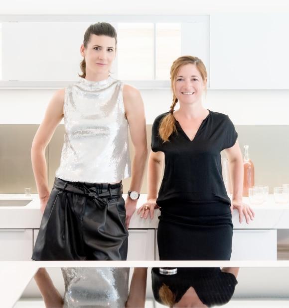 Le duo féminin de Divine Cuisine séduit par la marque Poggenpohl