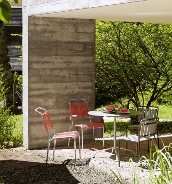 Swiss Design - Classici svizzeri e accessori adatti per giardino e balcone