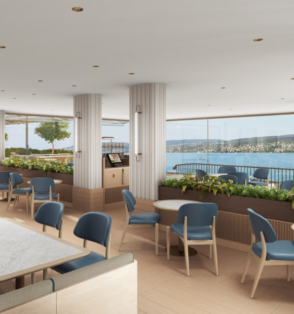 Eine frische Hotelbrise für den Zürichsee