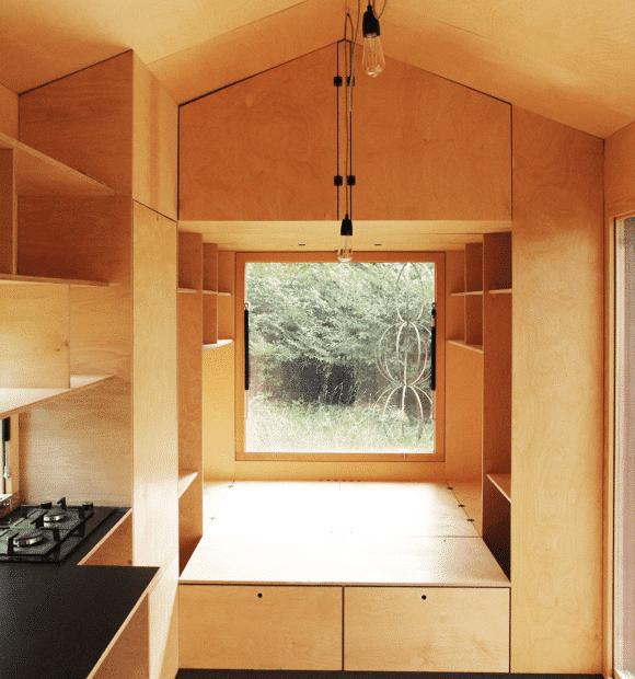 Tiny House Immergrün: Fixkosten und oekologischer Fussabdruck wurden halbiert