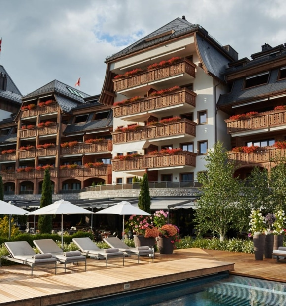 «The Alpina Gstaad Hotel» im exklusiven Zirkel der <br>Forbes-Liste