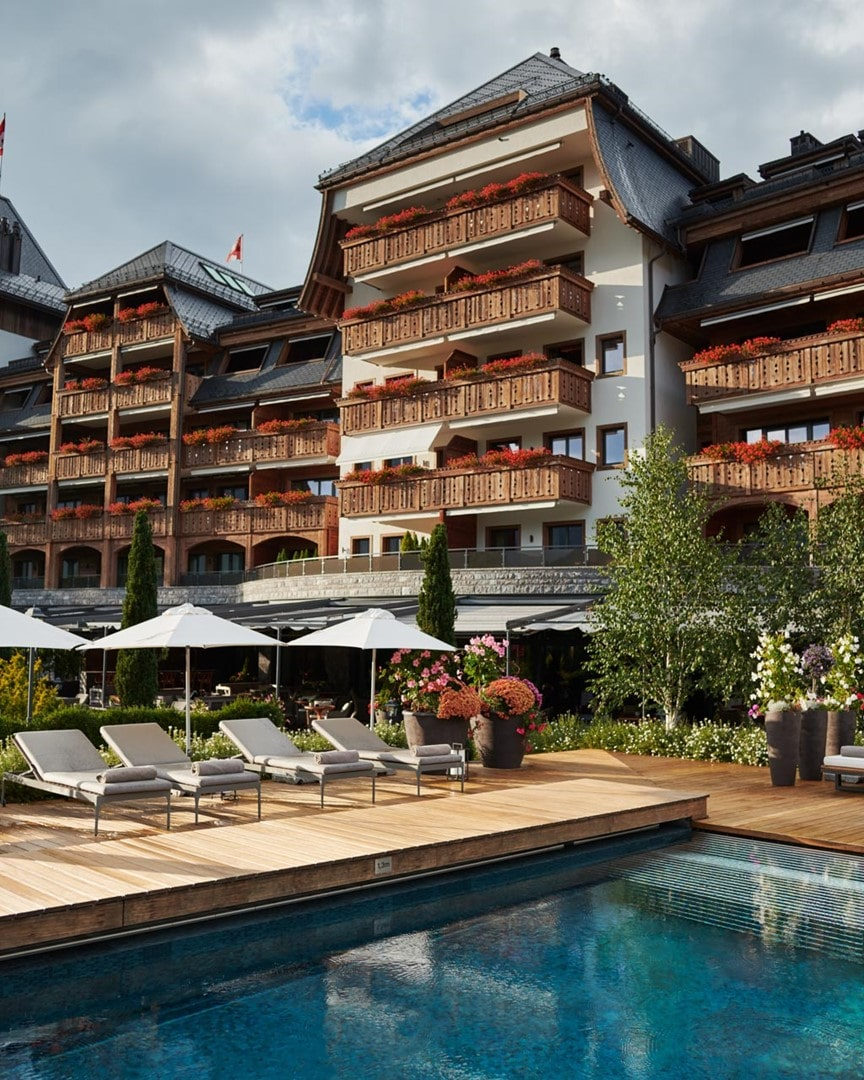 L'hôtel The Alpina Gstaad abrite l'une des plus belles chambres du monde