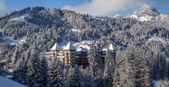 L'hotel The Alpina Gstaad ospita tra le più belle camere al mondo