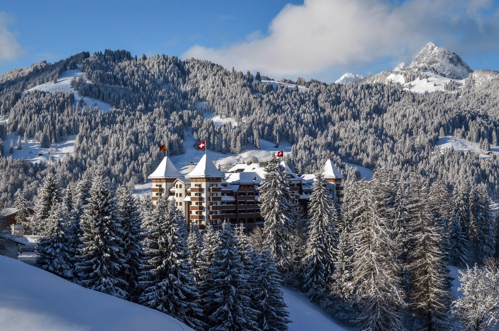 L'hôtel The Alpina Gstaad